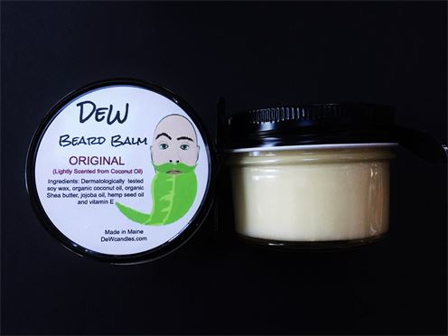 Drunken elWick. DeW Candles. Beard Balm Candle.